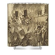 Book Of Martyrs, 1563 Shower Curtain