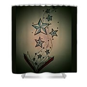 Book Of Wonder Shower Curtain