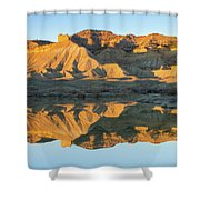 Bookcliffs Reflections Shower Curtain