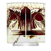 Bookend Buddies Shower Curtain