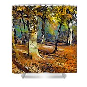 Booker Woods Shower Curtain