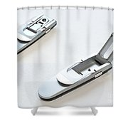 Booklight Shower Curtain