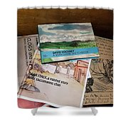 Books Of Beauty Shower Curtain