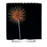 Boom 17 Shower Curtain