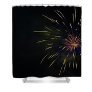Boom 4 Shower Curtain
