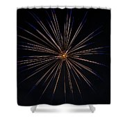 Boom 6 Shower Curtain