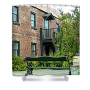 Boone Hall Cotton Gin Shower Curtain
