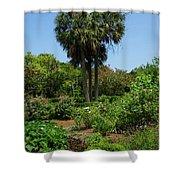 Boone Hall Garden Shower Curtain