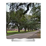 Boone Hall Plantation Shower Curtain