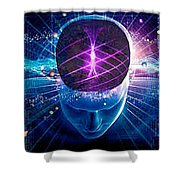 Boost Brainpower And Memory Shower Curtain