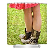 Boot Scootin' Shower Curtain