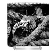 Boot Spur Shower Curtain