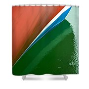 Boot Stripe Shower Curtain