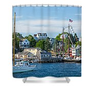 Boothbay Harbor Shower Curtain