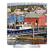 Boothbay Shower Curtain