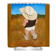 Boots And Skivvies Shower Curtain