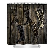 Boots Anyone? Shower Curtain