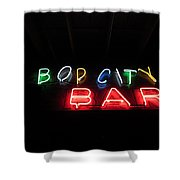 Bop City Shower Curtain