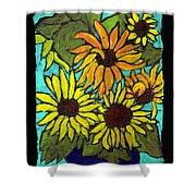 Boquet Of Sunshine Shower Curtain