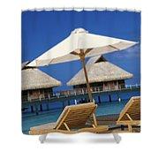 Bora Bora, Beach Shower Curtain