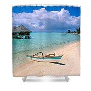 Bora Bora Moana Shower Curtain