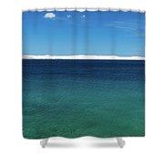 Bora In Velebit Kanal I Shower Curtain