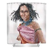 Boran Woman Shower Curtain