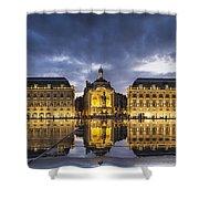 Bordeaux Place De La Bourse  Shower Curtain