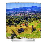 Border View Shower Curtain
