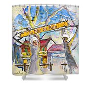 Borderes Sur Echez 01 Shower Curtain