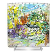 Borderes Sur Echez 02 Shower Curtain