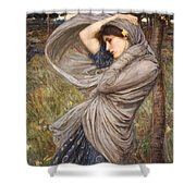 Boreas Shower Curtain