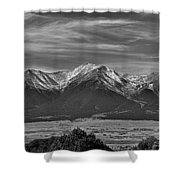 Boreas Mountain And Siblings Shower Curtain