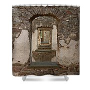 Borgholm Castle Shower Curtain