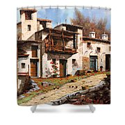 Borgo Di Montagna Shower Curtain