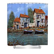 Borgo Viola Shower Curtain
