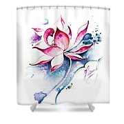 Born For Freedom Shower Curtain