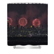 Born On The 4th Of July Shower Curtain
