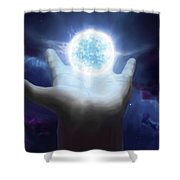 Born To Create Shower Curtain
