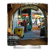 Borough Market Shower Curtain