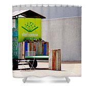 Borrow And Enjoy Shower Curtain
