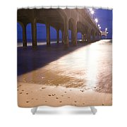 Boscombe Pier Shower Curtain
