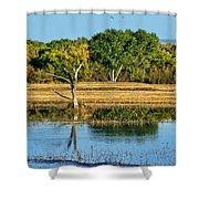 Bosque Del Apache - New Mexico Shower Curtain