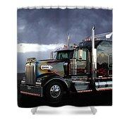 Boss Hogg - Kenworth W900 Shower Curtain