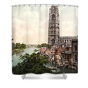 Boston - England Shower Curtain by International  Images