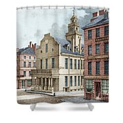 Boston, 19th Century Shower Curtain