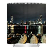 Boston Along The Charles River Shower Curtain