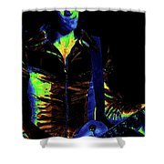 Boston Blues In Spokane 2 Shower Curtain