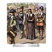 Boston: Mary Dyer, 1660 Shower Curtain by Granger