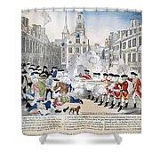 Boston Massacre, 1770 Shower Curtain